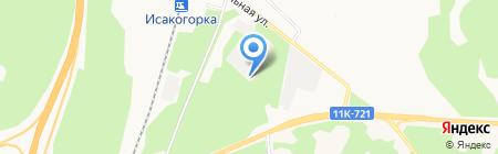 Хороший пар на карте Архангельска