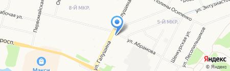 Архангельская рыбная компания на карте Архангельска