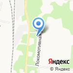 Титул на карте Архангельска