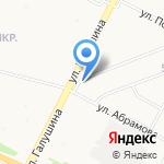 Деревенька на карте Архангельска