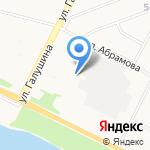Баско Порато на карте Архангельска