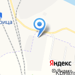 Левобережье-3 на карте Архангельска