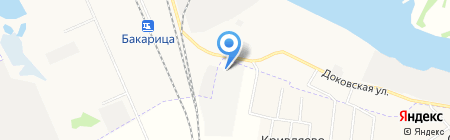 Макс Мебелев на карте Архангельска