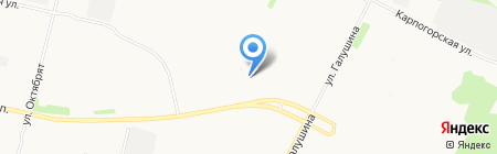 Магазин фруктов и овощей на Московском проспекте на карте Архангельска