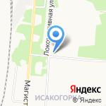 Свято-Сергиевский храм на карте Архангельска