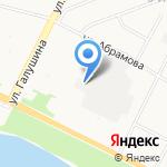 Драйв на карте Архангельска