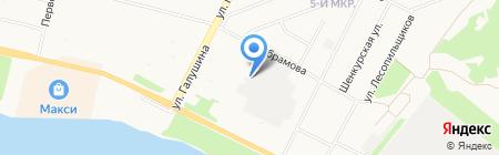 Вездеход-З на карте Архангельска