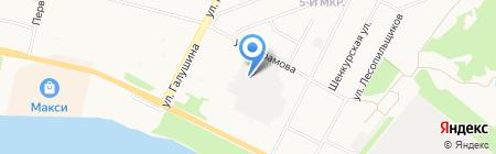 Карат ГК на карте Архангельска