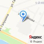 Карат на карте Архангельска