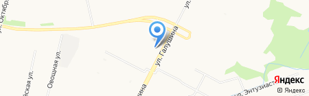 Продовольственный магазин на карте Архангельска