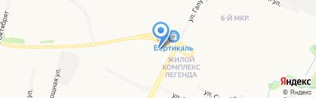 Динамика на карте Архангельска