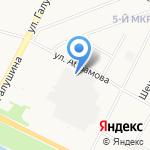 Двинской на карте Архангельска