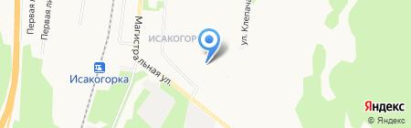 Детский сад №148 Рябинушка на карте Архангельска