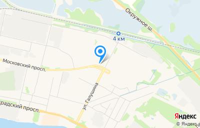 Местоположение на карте пункта техосмотра по адресу г Архангельск, пр-кт Московский, д 49