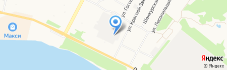 RedStar на карте Архангельска