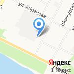 Магазин автоэмалей на карте Архангельска