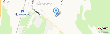 Левобережье на карте Архангельска