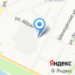 РЭМ на карте Архангельска
