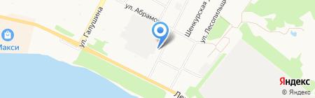 Звёздочка на карте Архангельска