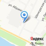 Магазин мебели и товаров для дома на карте Архангельска