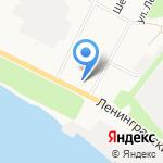 Экспресс на карте Архангельска