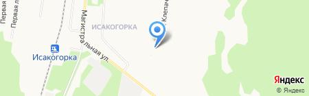Исакогорская детская библиотека №15 на карте Архангельска