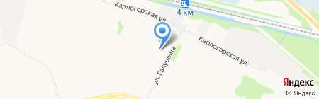 Термекс на карте Архангельска