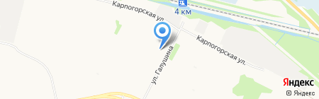 Мастерская по ремонту бытовой техники и телевизоров на карте Архангельска