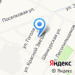Интерсити на карте Архангельска