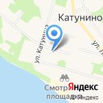 Приморская детская школа искусств на карте Архангельска