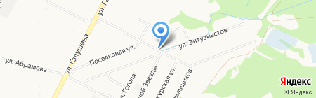 Продуктовый магазин на ул. Полины Осипенко на карте Архангельска
