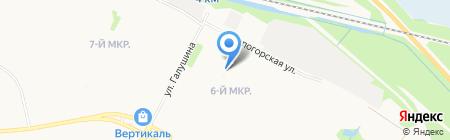 ЕСМ на карте Архангельска