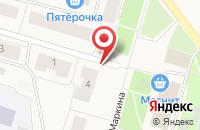 Схема проезда до компании Чудославские в Катунино