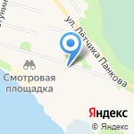 Часовня в честь святого великомученика Георгия Победоносца на карте Архангельска