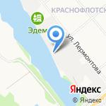 Двина-Сервис Лес на карте Архангельска