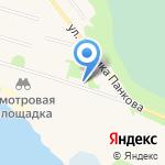 Катунинская начальная общеобразовательная школа на карте Архангельска