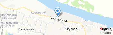 Архангельский деревообрабатывающий комбинат №1 на карте Архангельска