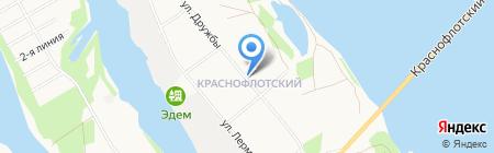 Потребительская корзина на карте Архангельска