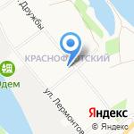 Храм священномученика Антония архиепископа Архангельского на карте Архангельска