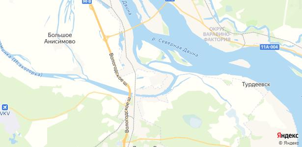 Окулово на карте