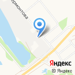 VG на карте Архангельска