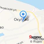 Администрация муниципального образования Лисестровское на карте Архангельска