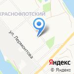 Сберегайка на карте Архангельска
