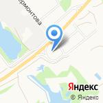 Краснофлотский на карте Архангельска