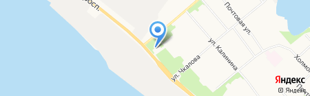 Мастерская по резке стекла на карте Архангельска