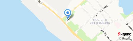 AUTOSTAR на карте Архангельска