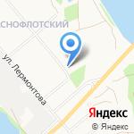 Форвард на карте Архангельска