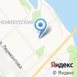 Почтовое отделение связи №11 на карте Архангельска