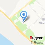Лесенка на карте Архангельска