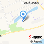 Исакогорский детско-юношеский центр на карте Архангельска